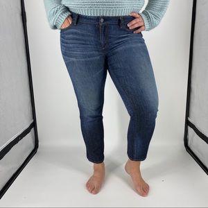 Ann Taylor | Modern Fit Straight Capri Jeans Sz 12